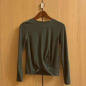 ❤️Green Old Navy Sport  Long Sleeve Top
